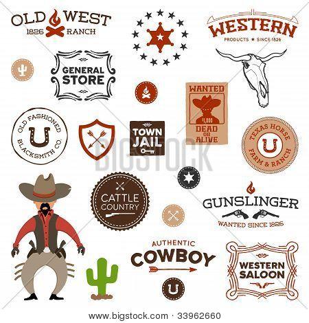 Oude westerse ontwerpen