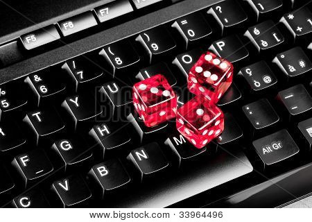 Playing Dice On Computer Keyboard