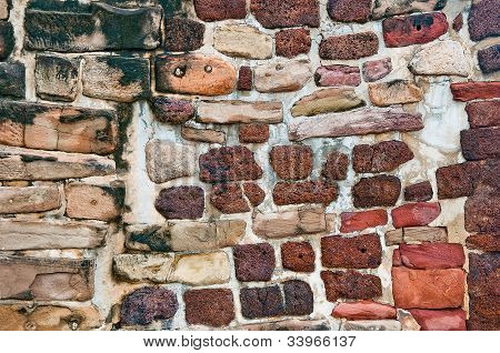 The Ancient Brick Wall