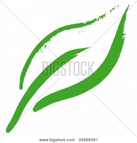 Stylized Leaf