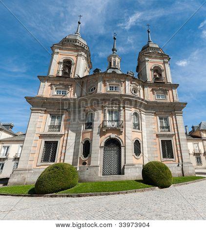 Real Sitio de San Ildefonso, La Granja, royal palace in Spain