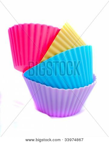 stacked cupcake cases