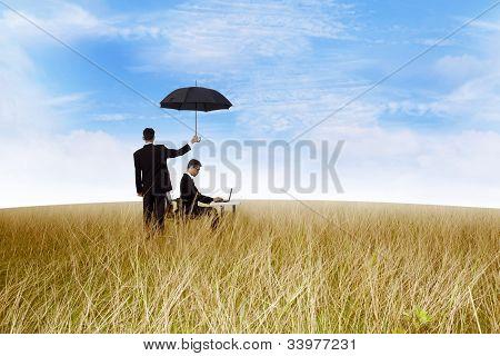 Arbeit Versicherung