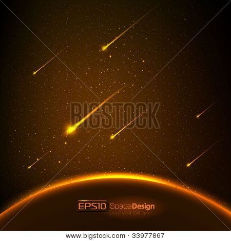 Vector space background