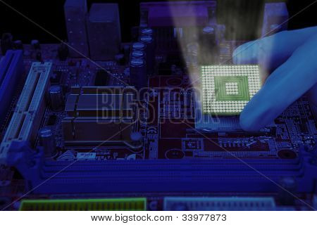 Installing Microchip Computer