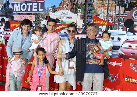 ANAHEIM - JUN 13:  Cesar Bono arrives at the