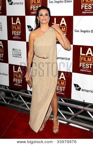 """LOS ANGELES - JUN 14:  Penelope Cruz arrives at the """"To Rome With Love"""" LAFF Premiere at Regal Cinemas L.A. LIVE Stadium 14 on June 14, 2012 in Los Angeles, CA"""