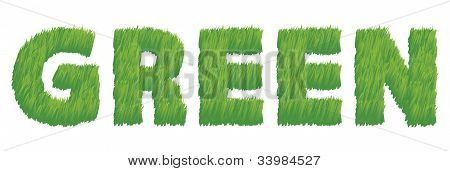 Green as Grass Illustration