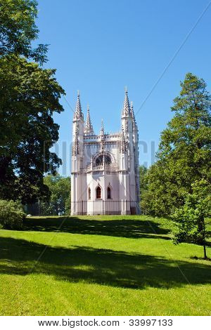 Gothic Chapel In Peterhof