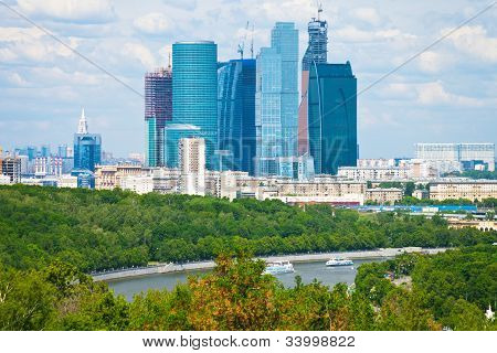 View Of New Moscow City