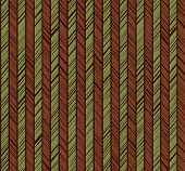 Pattern Herringbone, Seamless Background, Green, Brown, Vector.  Vertical Stripes With Green And Bro poster