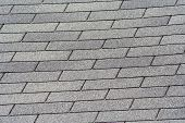 foto of shingles  - Image of roof shingles on a summer day - JPG