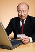Businessman Buying Online