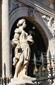 pic of arsenal  - Architectural detail at Arsenal in Venice - JPG