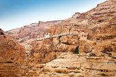 stock photo of jericho  - Mount of Temptation - JPG