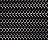 picture of chain link fence  - Abstract vector illustration of a wire linked fence - JPG