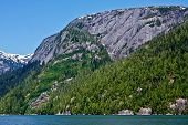 image of punchbowl  - Misty Fjords National Monument Wilderness near Ketchikan - JPG