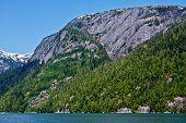 stock photo of punchbowl  - Misty Fjords National Monument Wilderness near Ketchikan - JPG