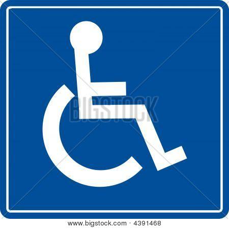 Handicap-Symbol.