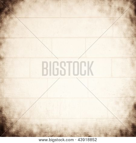 Abstract gray grunge background, black&white grungy textured wallpaper, copy space, retro style photo, damaged paper