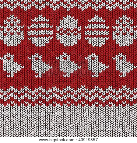 Easter Sweater Pattern, vector eps10 illustration