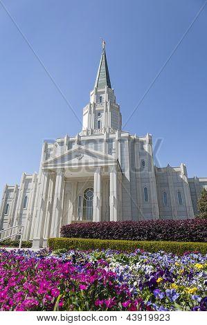 The Houston Texas Temple in Houston, Texas