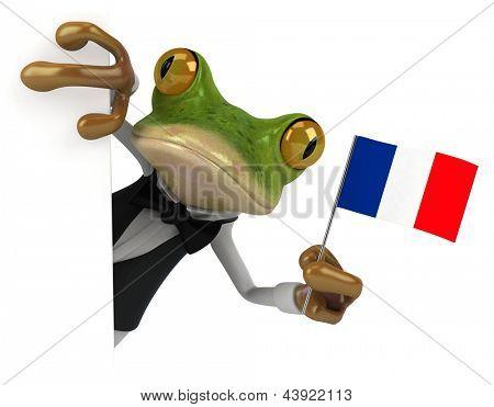 Rana francés