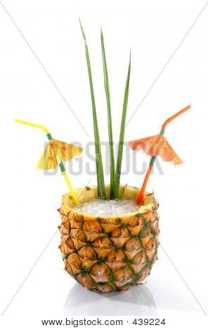 Tropical Pineapple Drink 1