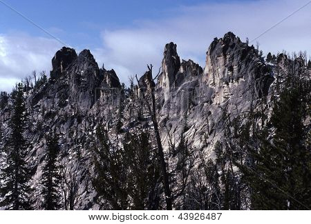 Fish Fin Ridge, Bighorn Crags - Idaho 3
