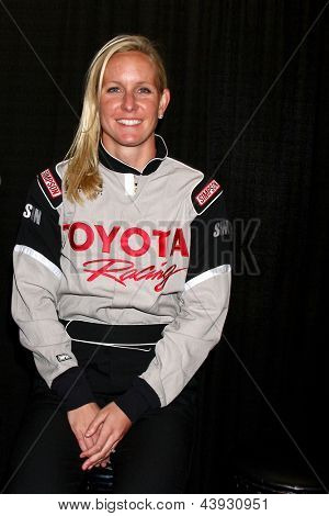 LOS ANGELES - MAR 23:  Jessica Hardy at the 37th Annual Toyota Pro/Celebrity Race training at the Willow Springs International Speedway on March 23, 2013 in Rosamond, CA          EXCLUSIVE PHOTO