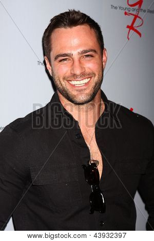 LOS ANGELES - FEB 27:  Marco Dapper at the Hot New Faces of the Young and the Restless press event at the CBS Television City on February 27, 2013 in Los Angeles, CA