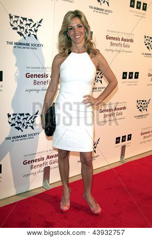 LOS ANGELES - MAR 23:  Tamar Geller arrives at the 2013 Genesis Awards Benefit Gala at the Beverly Hilton Hotel on March 23, 2013 in Beverly Hills, CA