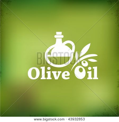 Olive oil vector backgound