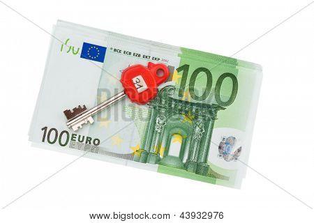 muitas das notas de euro da União Europeia.