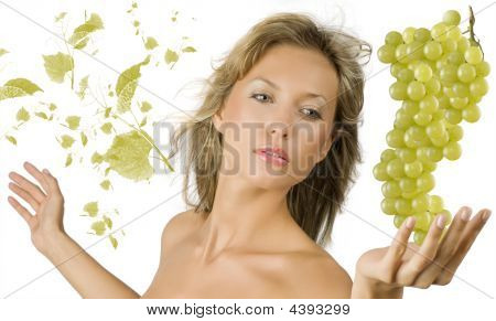 Leaf And Grape