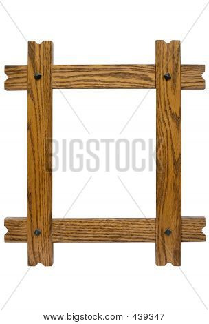 Rustic Picture Frame W/ Path