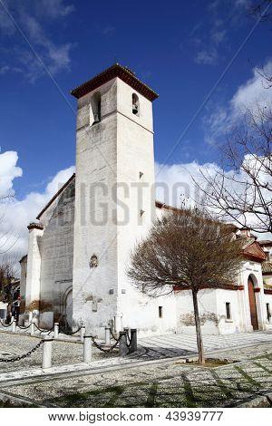 St. Nicolas church in Granada, Spain