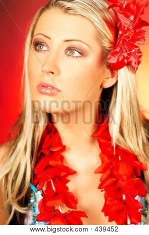 Chica de Hawaii