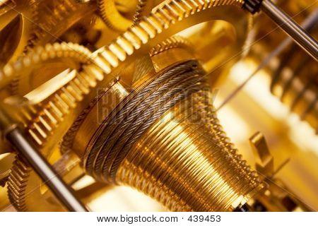 Golden Uhrwerk