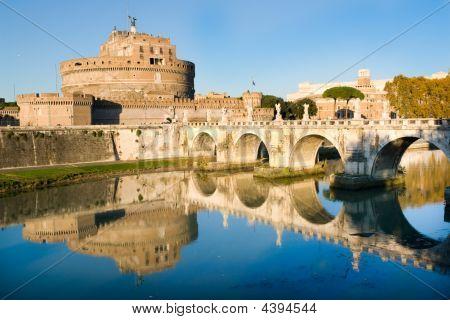 Sant'angello Castle In Rome