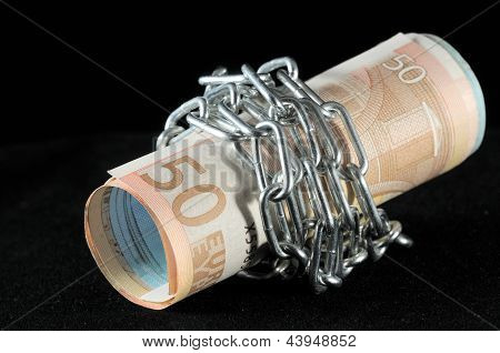 Money in chains