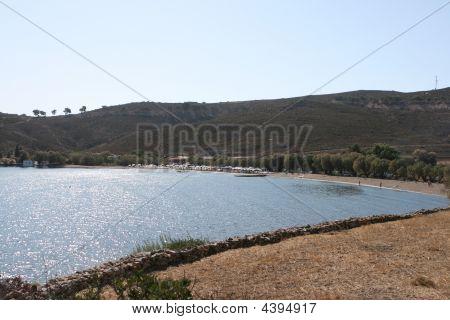 Beach In Patmos