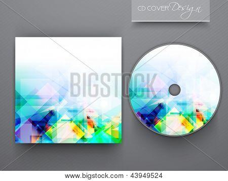 CD Cover Design für Ihr Unternehmen. EPS 10.