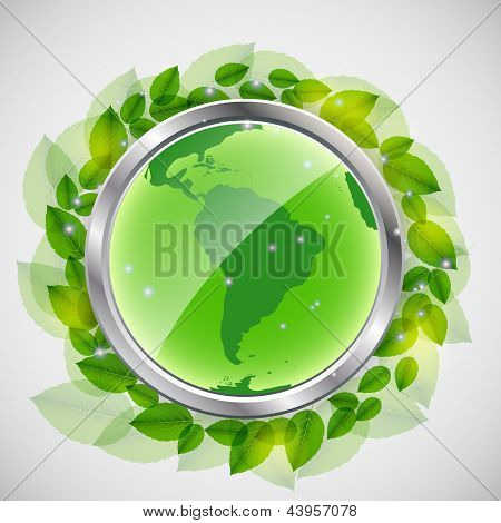 green earth concept. Vector iilustration