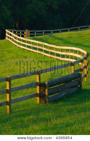 Winding Fence