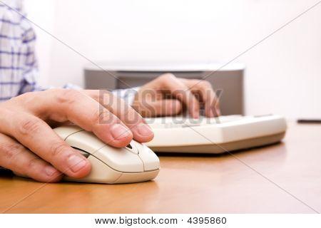 Arbeiten mit dem computer