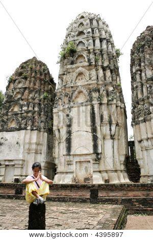Khmer Prangs Sukothai