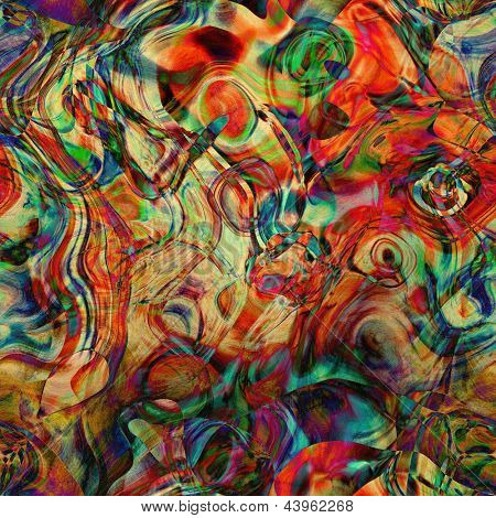 art abstract chaos textured bright rainbow background
