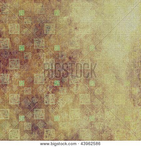 Kunst alte Muster, Grunge geometrischen Hintergrund