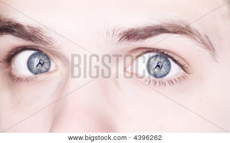 Closeup Augen
